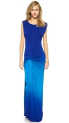 Young Fabulous And Broke Bryton Maxi Dress Royal Ombre