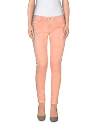 Pepe Jeans Trousers Casual Trousers Women Salmon Pink