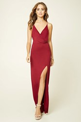 Forever 21 Surplice Front Maxi Dress