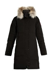 Canada Goose Shelburne Fur Trimmed Down Parka Black
