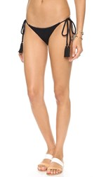 Beach Riot Stone Cold Fox Ivy Tie Bottoms Black Texture