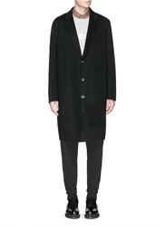 Acne Studios 'Charles' Wool Cashmere Coat Black