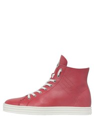 Hogan Rebel 50Mm Soft Leather High Top Sneakers