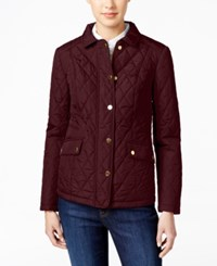 Charter Club Quilted Water Resistant Jacket Only At Macy's Cranberry Rd