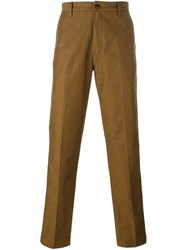 Levi's Made And Crafted 'Chino Pant' Trousers Brown