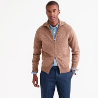 J.Crew Lambswool Full Zip Sweater