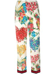 Gucci Corsage Print Pajama Trousers