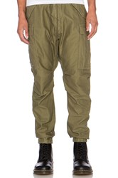 Nlst Cargo Pants Olive