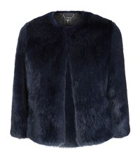 Ted Baker Forysia Faux Fur Jacket Female