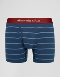 Abercrombie And Fitch Stripe Trunks In Navy Navy