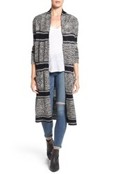 Paige Women's Joni Long Open Front Cardigan