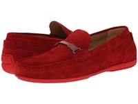 Boss Black Flarro Medium Red Men's Slip On Dress Shoes