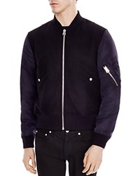 Sandro Battle Jacket Marine Noir