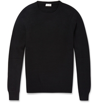 Saint Laurent Slim Fit Cashmere Sweater Black
