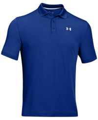 Under Armour Men's 2.0 Performance Golf Polo Royal