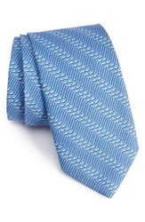 Vineyard Vines Men's Hockey Stick Print Silk Tie