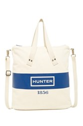 Hunter Graphic Canvas Shopper Blue