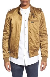 Men's Members Only 'Iconic' Water Resistant Racer Jacket British Tan