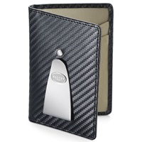 Grants Of Dalvey Continental Credit Card And Money Clip Black