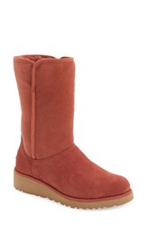 Uggr Women's Ugg 'Amie Classic Slim Tm ' Water Resistant Short Boot Spice Suede