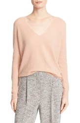 Theory Women's 'Adrianna' V Neck Cashmere Pullover Pale Rose