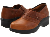 Ariat Safety Toe Clog Brown Women's Clog Shoes