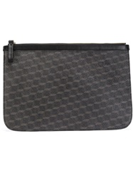 Pierre Hardy Cube Large Pouch Black