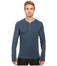 Kuhl Vanquisher Long Sleeve Shirt Pirate Blue Men's Long Sleeve Pullover