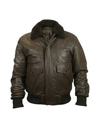 Forzieri Men's Dark Brown Chevrette Two Pocket Jacket W Fur Collar