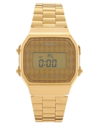 Casio A168wg 9Bwef Digital Quartz Gold Watch