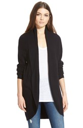 Leith Cocoon Cardigan Black
