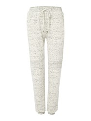 Episode Relaxed Marl Trousers White