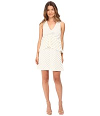 See By Chloe Graphic Lace Sleeveless Dress Natural White