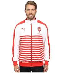 Puma Afc T7 Anthem Jacket With Sponsor High Risk Red White Men's Jacket