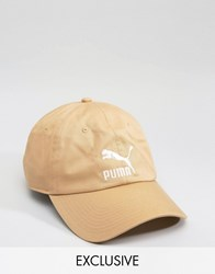 Puma Cap In Sand Exclusive To Asos Sand Grey