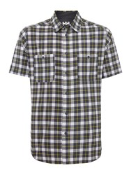 Helly Hansen Jotun Nordic Check Short Sleeve Shirt Charcoal