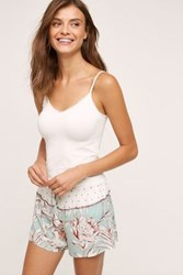 Anthropologie Minted Fleur Sleep Shorts