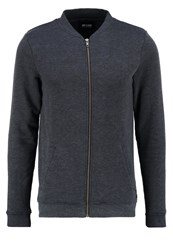 Only And Sons Onszip Bomber Jacket Dark Navy Dark Blue