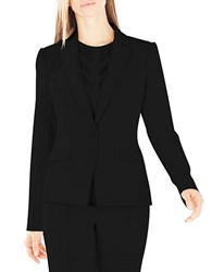 Bcbgmaxazria Karl Single Breasted Blazer Black