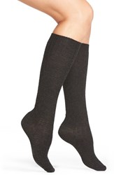 Women's Smartwool 'Wheat Fields' Merino Wool Blend Socks Charcoal Heather