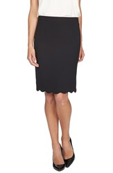 Women's Cece By Cynthia Steffe Scallop Hem Pencil Skirt