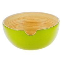 Ekobo Riso Glossy Serving Bowl Lime