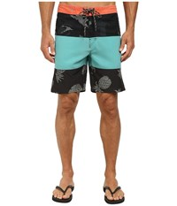 Rip Curl Recoil Boardwalk Shorts Teal Men's Shorts Blue