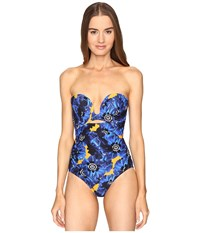 Proenza Schouler Molded Cup Maillot Lapis Women's Swimsuits One Piece Navy