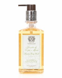 Cucumber And Lotus Flower Hand Wash 10 Oz. Antica Farmacista