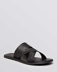 The Men's Store At Bloomingdale's Criss Cross Padded Sandals