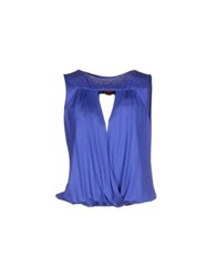 Michelle Windheuser T Shirts Bright Blue