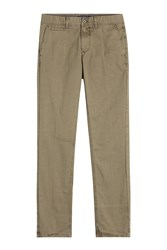 Woolrich Classic Twill Chinos Green