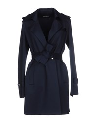 Diana Gallesi Coats And Jackets Full Length Jackets Women Dark Blue