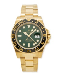Classic Rolex Men's Gmt Master Ii Gold Watch Nm Watch Collection By Crown And Caliber